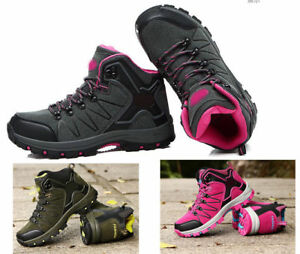 Men-039-s-Women-Outdoor-Sport-Hiking-Shoes-waterproof-Camping-Climbing-Ankle-Boots
