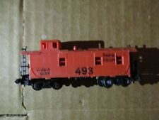 RAPIDO N SCALE CABOOSE #C-20-5 SERR #493 (RAPIDO EQUIPPED, MISSING SMOKE STACK)