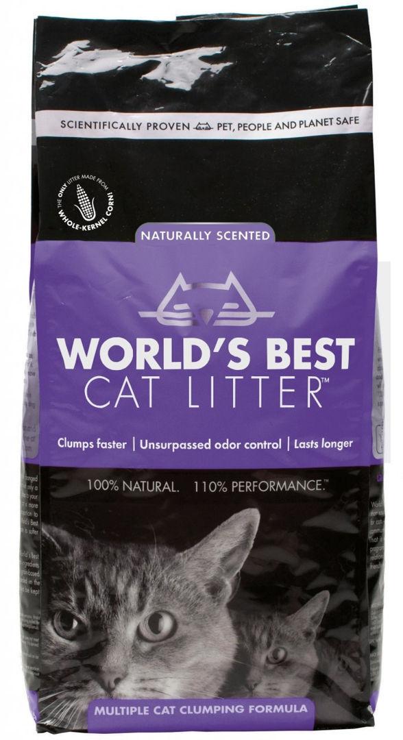 Worlds Best Cat Litter Lavender 12.7kg