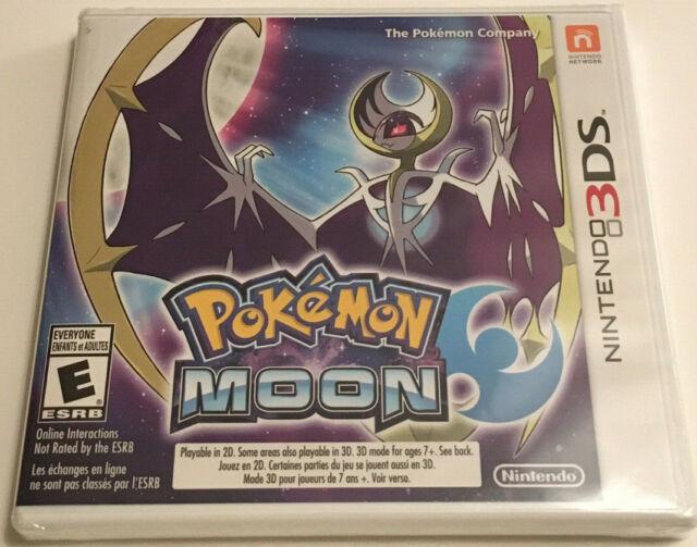 Pokémon MOON Nintendo 3DS Video Game (2016) Sealed BRAND NEW OG