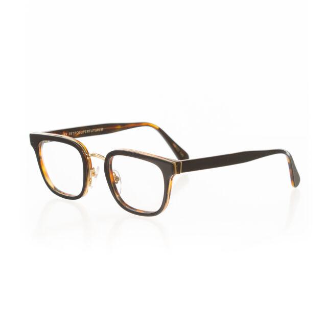 RETROSUPERFUTURE Numero 22 NERO Havana Optical Glasses Large Super ...