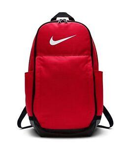 b3fe9a7c730f Image is loading Nike-BRASILIA-EXTRA-LARGE-TRAINING-BACKPACK-University-Red-