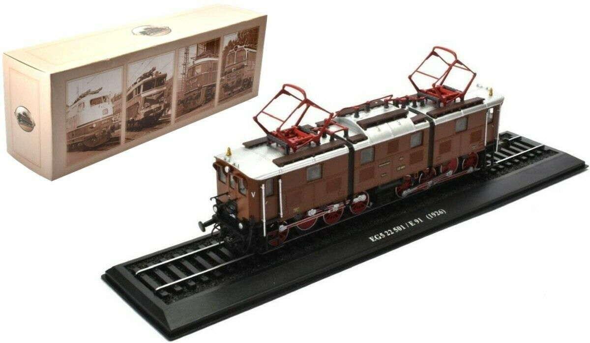 Eg5 22 501 e 91 Deutsche predotype 1926, 1 87, locomotive standmodell atlas