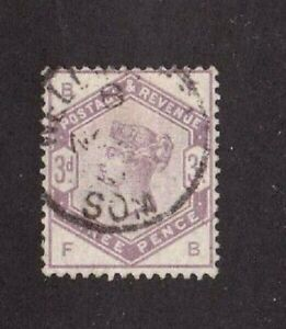 Great-Britain-stamp-102-used-Queen-Victoria-SCV-100-00