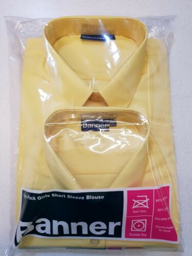 Banner Gold Blouses Short Sleeve Size 46 Twin Pack
