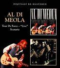 Tour De Force: Live/Scenario by Al di Meola (CD, Nov-2011, 2 Discs, Beat Goes On)
