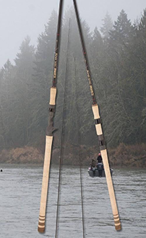 G LOOMIS 8'8 2pc 6-12 lb Med/Hvy Steelhead Drift Casting Rod IMX 1043-2C STDR