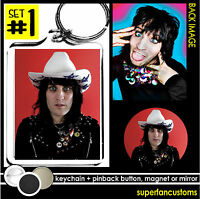 Mighty Boosh Keychain + Button Or Magnet Or Mirror Vince Noir Noel Fielding 1199