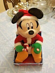 Disney WIGGLIN' MICKEY MOUSE Plush Dances & Sings Deck The Halls New in box | eBay