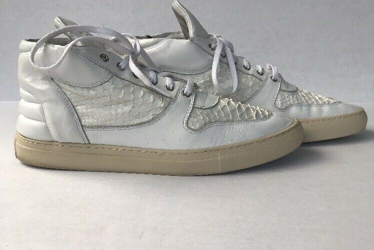 Filling pieces Mens Off White Python Print High Tops Sneakers Size 11 US