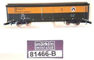 Z Scale Marklin Mini-Club 81466-B Great Northern 50' Box Car
