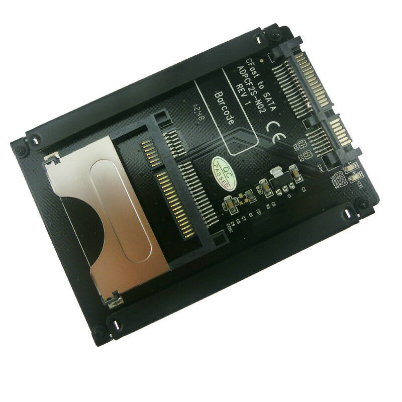 Sintech Cfast Card to 2.5-Inch SATA Adapter with 2.5-Inch Bracket