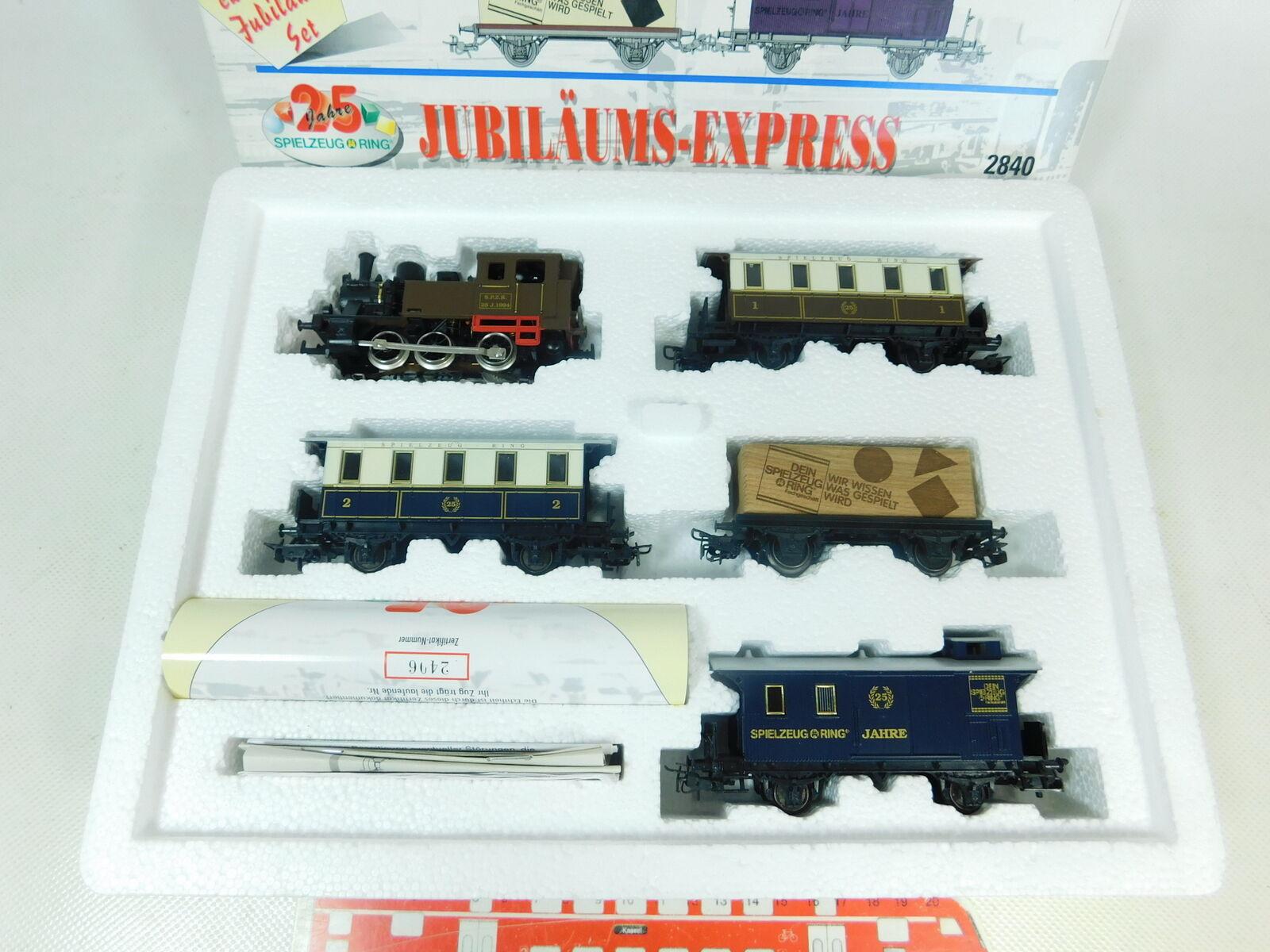 BT102-1    H0/Ac 2840 Jubiläums-express 25 Jahre Spielzeugring, Ovp