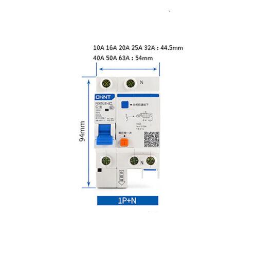 230V//400V Circuit Breaker 10A 16A 20A 25A 32A 40A 50A 63A 1P+N 2P 3P 3P+N 4P