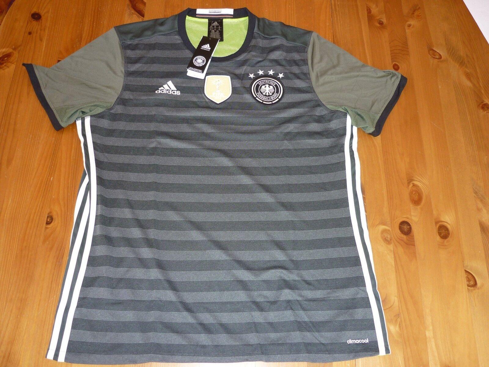 Adidas Alemania Football Camisa Tamaño Medio Bnwt