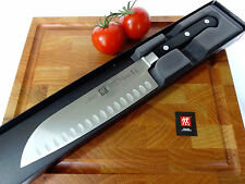 Zwilling J A Henckels Twin Pro S 7 Inch Santoku Knife With Hollow Edge