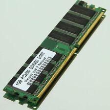Memoria RAM 1GB PC3200 400MHZ DDR1 baja densidad para INTEL y AMD