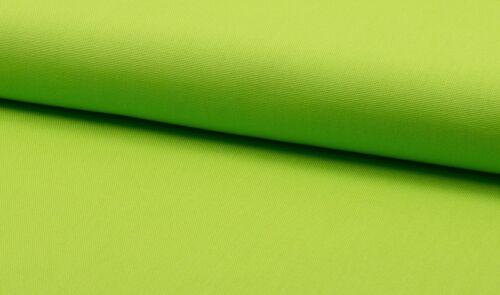 Baumwoll Canvas Meterware Stoff limone 10.00 EUR//Meter