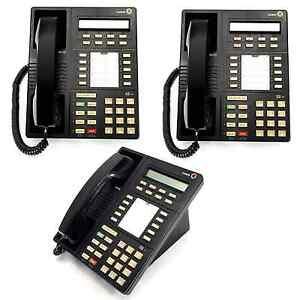 3x lucent 8410d definity 10 line phones handset cord 8410d01b used rh ebay com