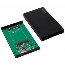 "LOGILINK UA0222 USB3.0 GEHÄUSE FÜR 1.8"" mSATA SSD - FESTPLATTEN SSD-GEHÄUSE"