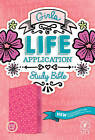 Girls Life Application Study Bible NLT by Tyndale House Publishers (Leather / fine binding, 2016)