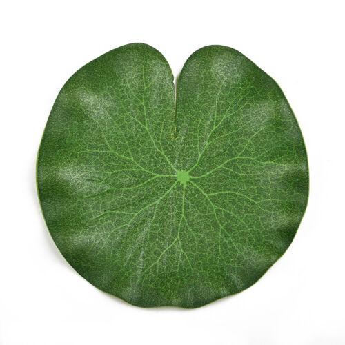 10X Artificial Lotus Leaf EVA Fake Plants Leaves Wedding-Party Home Decoration