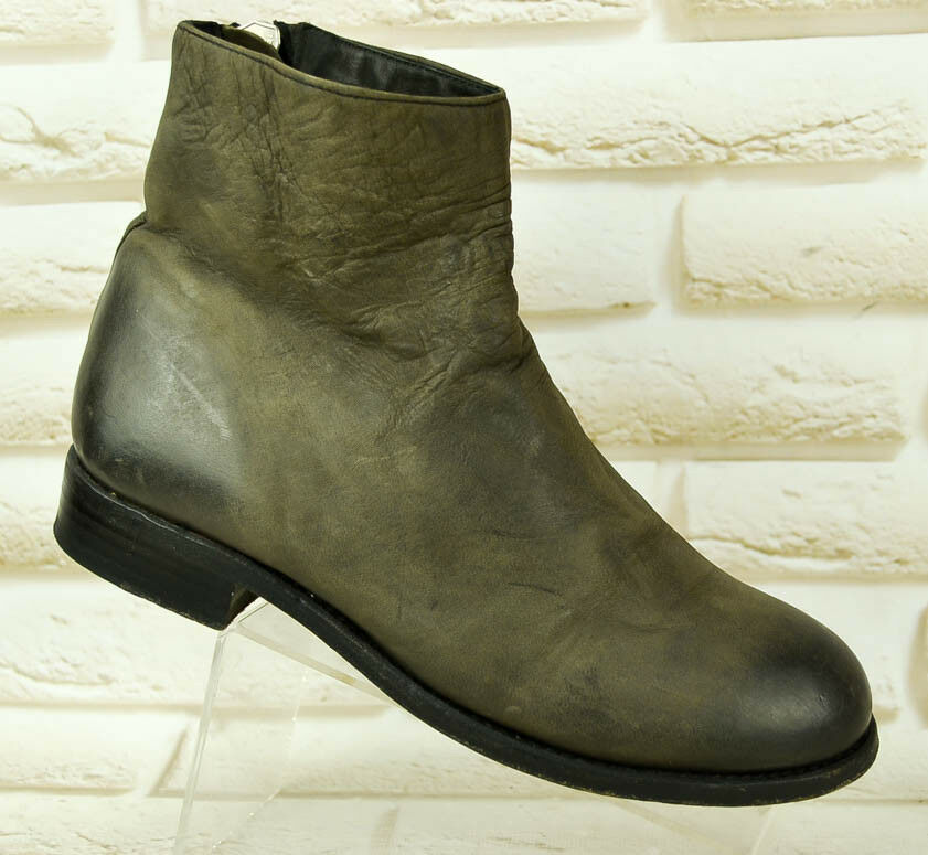 THE Womens LAST CONSPIRACY Brown Leather Womens THE Boots Shoes PORTUGAL Size 3 UK 36 EU c47c1a