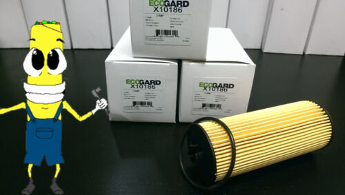 Premium Oil Filter for Mercedes Benz SL63 AMG w// 5.5L Engine 2013-2015 Pack of 3