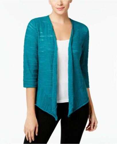 Alfani Draped Asymmetrical Cardigan MSRP $69 Size XL # 5B 519 NEW
