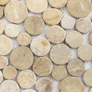 Das Bild Wird Geladen Mosaik Fliese Wandverblender Duschboden Bad Design  Marmor Beige