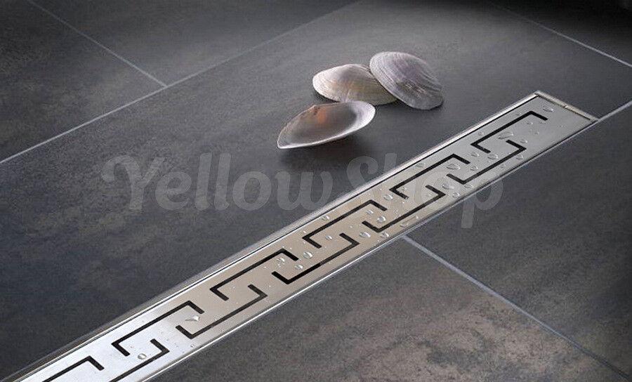 Conduit de douche drain de plancher grille conduit en acier inoxydable 60 70 80 90 100