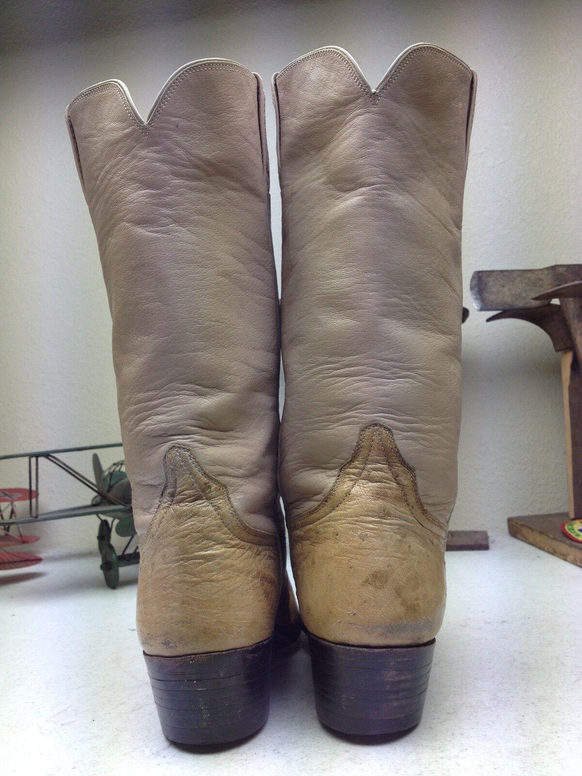 DISTRESSED CAMARGO BOOT CUSTOM HAND MADE PINK BUTTER OSTRICH COWBOY DANCE BOOT CAMARGO 6-6.5B 3eb032