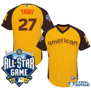Majestic-Authentic-MLB-Angels-Mike-Trout-27-All-Star-Game-Home-Run-2016-Jersey