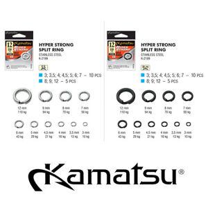 KAMATSU K-2199 SPRENGRINGE, SPRINGRINGE, HYPER STRONG SPLIT RINGS SPLITRINGE BF
