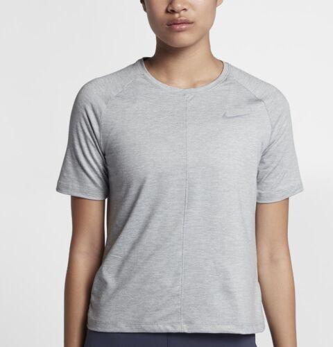 Camiseta Wolf Dry de running grande Grey 910043 mujer 886551417937 para Nike Element rSrAxgd8n