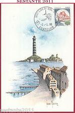 ITALIA MAXIMUM MAXI CARD LIDO DI JESOLO VE VEDUTA DEL LUNGOMARE 1986 B430