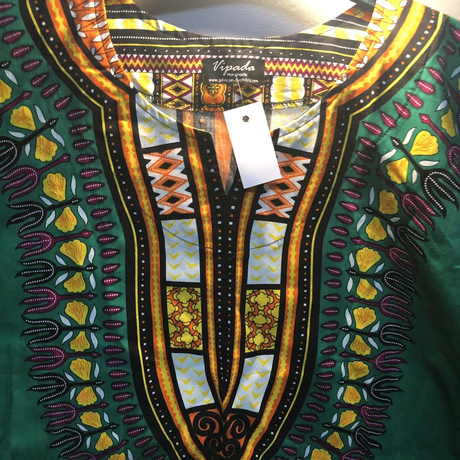 Vipada Hand Made African Top New With Tags Size XL