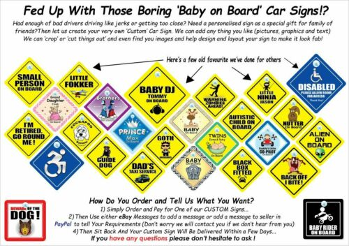 Nephew On Board Car Sign Suction Cup Sign Baby On Board Sign