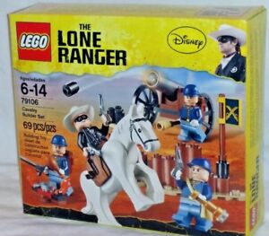 SEALED-79106-LEGO-Lone-Ranger-Disney-movie-CAVALRY-BUILDER-SET-69-pc-RETIRED-set