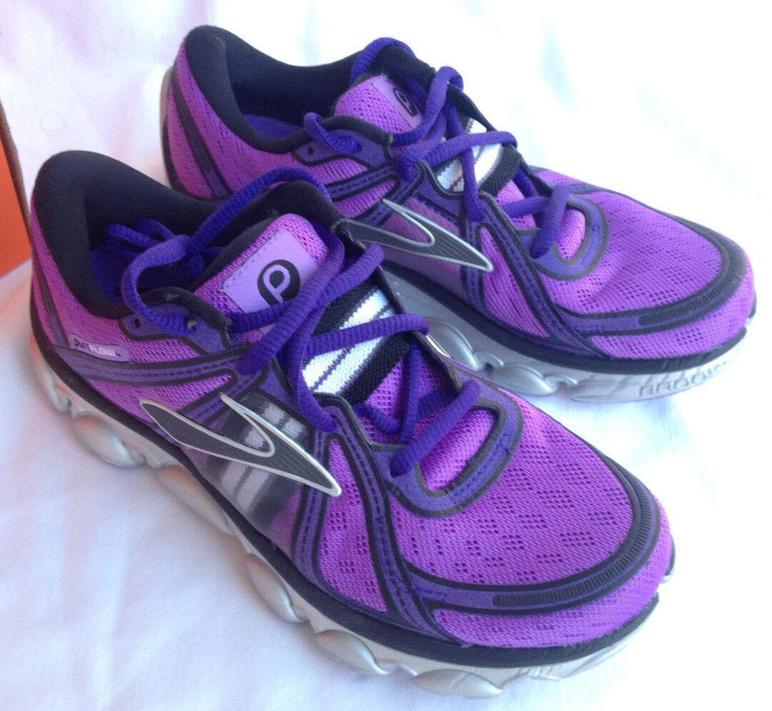 Brooks Pure Flow DNA  Violet  Running Chaussures 12018 Marathon Femme 5 B new