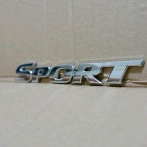 Metal-3D-Chrome-Auto-Car-Trunk-Racing-SPORT-Logo-Emblem-Badge-Decal-Sticker-NEW