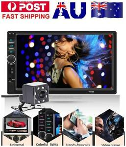 7-034-Double-2-Din-Car-DVD-Player-Radio-Stereo-GPS-SAT-NAV-MP3-AUX-USB-Bluetooth