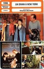 FICHE CINEMA : UN DIVAN A NEW YORK Binoche,Hurt,Akerman 1996 A Couch In New York