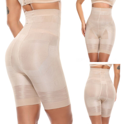 High Waist Tummy Control Shapewear Women Seamless Slimming Shorts Body Shaper