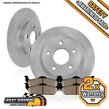 2 Rear Brake Rotors and Ceramic Pads 2005 2006 2007 2008 2009 2010 HONDA ODYSSEY