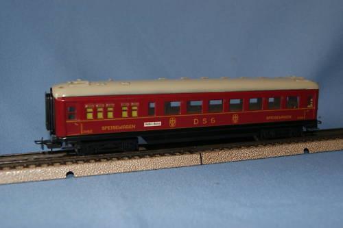 Marklin 346 2  4008 DSG Speisewagen car red vers. 8