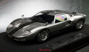 Details about Super Rare 1/18 Model Dream Power Ford GT40 MK1 Silver