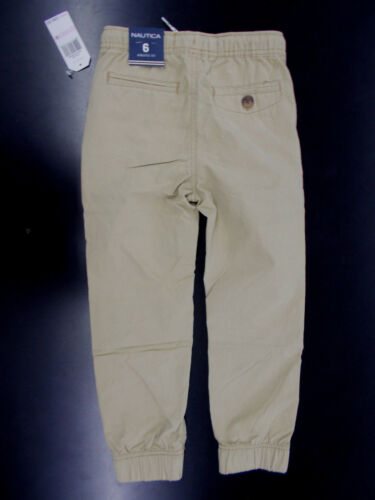 Boys Nautica $36.50 Khaki Jogger Pants Size 4-8