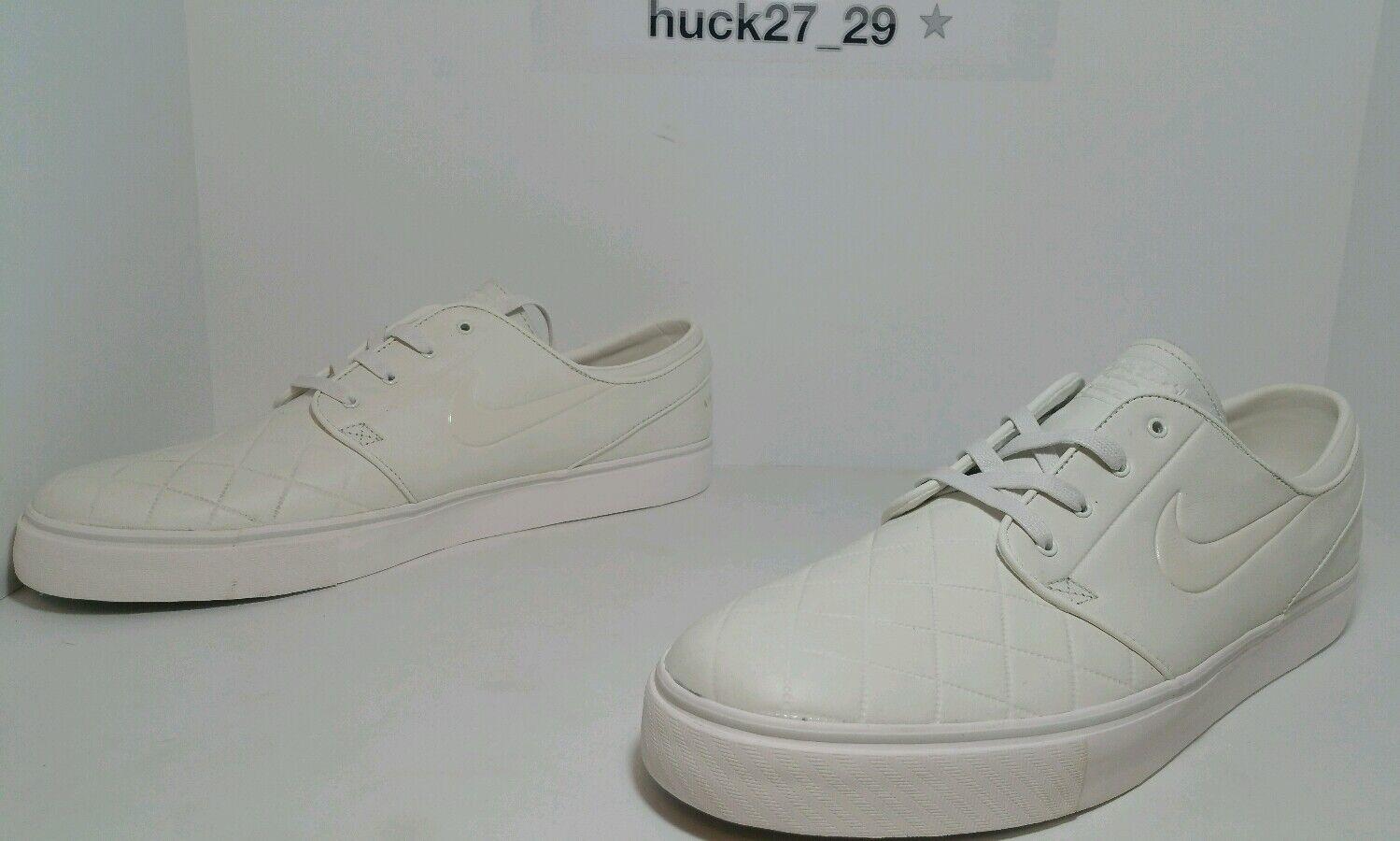 Nike Dunk ZOOM STEFAN JAONSKI ELITE FBxFC Size 14 QUILT IVORY WHITE 844815 111