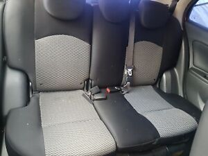NISSAN-MICRA-ACENTA-K13-rear-seat-complete-with-headrest